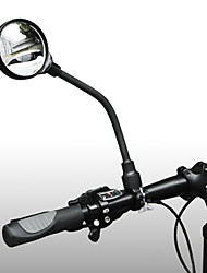 cheap -Rear View Mirror Handlebar Bike Rear View Mirror Adjustable Portable Shockproof Cycling Bicycle motorcycle Bike Aluminum PVC(PolyVinyl Chloride) Black Road Bike Mountain Bike MTB Fixed Gear Bike