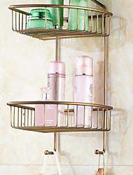 cheap -Bathroom Shelf New Design Modern Metal 1pc - Bathroom Double Wall Mounted