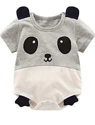 cheap -Baby Boys' Basic Geometric / Print Short Sleeves Romper White