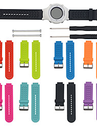 cheap -Watch Band for Approach S4 / Approach S2 Garmin Sport Band / DIY Tools Silicone Wrist Strap
