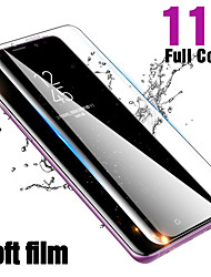 cheap -full curved soft hydrogel film for samsung galaxy s8 s9 s10 plus note 9 8 screen protector for samsung s10e plus(not glass)