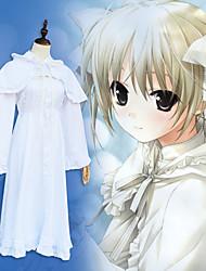 cheap -Inspired by Cosplay / Yosuga no Sora Cosplay Anime Cosplay Costumes Japanese Dresses Dress / Shawl / Socks For Women's / Bow / Headwear