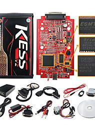 cheap -myonly V2.47 Kess V2 OBD2 miniflower Auto ECU ProgrammerTool OBD2 Manager Tuning Kit Kess V5.017 V2.47 Online Version Unlimited Token Car Diagnostic Tool
