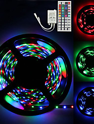 cheap -LOENDE LED Strip Lights 5m 300 LED 2835 SMD RGB Tape Lights Self Adhesive Multicolor for Room Kitchen TV Festival Illumination with Remote 12V