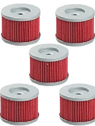 cheap -5pcs Oil Fuel Filter For Honda Rancher 350 420 TRX300EX 400EX Fourtrax 300 Foreman 500