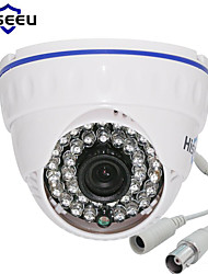 cheap -Hiseeu AHCR512 AHDH 1080P Family Mini Dome Security Analog CCTV Camera Indoor IR CUT Night Vision Camera