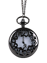 cheap -Unisex Pocket Watch Quartz Casual Creative Analog - Digital Black Bronze / Titanium Alloy