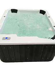 cheap -Outdoor spa tub whirlpool Massage bathtubs 5 people Freestanding Jacuzzi