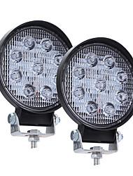 Недорогие -2pcs Интегрированный светодиод Автомобиль Лампы 90 W 9 Светодиодная лампа Рабочее освещение Назначение Универсальный Все года