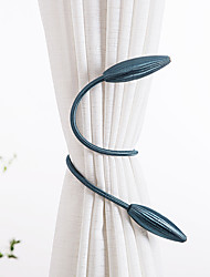 cheap -Curtain Tiebacks Hanging Belts Ropes Curtain Holdback Buckles Clasp Clips Curtain Accessories Hook Holder Decor