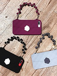 cheap -Case For Apple iPhone XS / iPhone XR / iPhone XS Max/7 8 PLUS/6SPLUS/6S Pattern Back Cover Solid Colored TPU