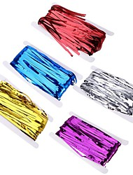 cheap -Metallic Foil Curtain Wedding Decoration Backdrop Foil Fringe Tinsel Curtain Shiny Backdrop Birthday Party Decoration