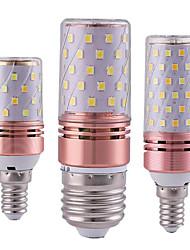 cheap -3pcs 16 W LED Corn Lights 300 lm E14 E26 E27 T 84 LED Beads SMD 2835 Warm White White 85-265 V