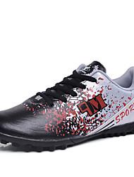 abordables -Homme Chaussures de confort Polyuréthane Printemps été Sportif Chaussures d'Athlétisme Football Ne glisse pas Noir / Vert / Orange / Athlétique / Preuve de l'usure