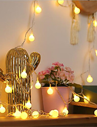 cheap -3M Fairy Small Ball Wedding Xmas LED Holiday String Light Christmas Tree Party Decor Garland Battery Powered String Lamp