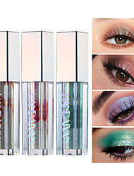 cheap -Brand HANDAIYAN mixed color fashion high gloss pearl eye shadow liquid waterproof lasting eye makeup
