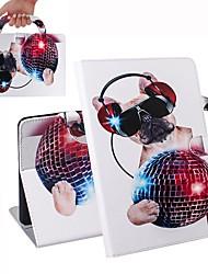Недорогие -чехол для apple ipad mini 3/2/1 / ipad mini 4 / ipad mini 5 кошелек / визитница / противоударный чехол для всего тела модная собака pu кожаный чехол для apple ipad mini 3/2/1 / ipad mini 4 / ipad mini