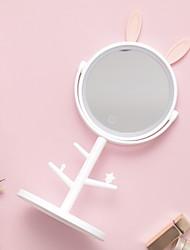 Недорогие -Зеркало Креатив / Оригинальные Современный современный Стекло / пластик 1шт Косметическое зеркало
