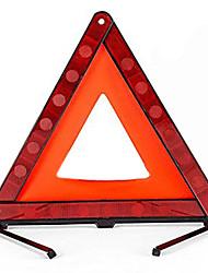 cheap -Practical car stop sign triangular road tripod emergency warning sign folding reflective road lighting