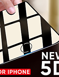 Недорогие -5d закаленное стекло на iphone 6 6s плюс 7 8 х защитная пленка для экрана защитное стекло изогнутый край для iphone 8 7 плюс х пленка