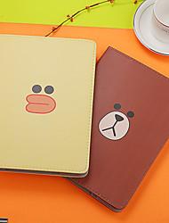cheap -Case For Apple iPad2 / 3 / 4 /Air / Air 2/mini 1 / 2 / 3 /mini 4 /mini 5 / iPad(2018)/iPad(2017) Dustproof /Auto Sleep / Wake Up/ with Stand / Pattern Full Body Cases Cartoon PU Leather / TPU