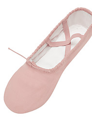 cheap -Women's Ballet Shoes Flat Flat Heel Camel Black Pink Lace-up