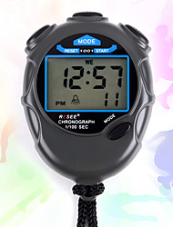 cheap -Men's Women's Sport Watch Stopwatch Japanese Digital Black 30 m Chronograph New Design Stopwatch Digital Outdoor New Arrival - Black Two Years Battery Life / Large Dial
