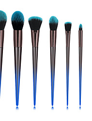cheap -Professional Makeup Brushes 7pcs Soft New Design Full Coverage Color Gradient Comfy Plastic for Makeup Set Makeup Tools Makeup Brushes Blush Brush Foundation Brush Makeup Brush Lip Brush Eyeshadow