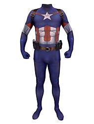 abordables -Inspiré par Cosplay Superhéros Manga Costumes de Cosplay Japonais Costumes Cosplay Costume Zentai / Bretelles / 1 ceinture Pour Homme