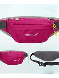 cheap -Fanny Pack Waist Bag / Waist pack Running Pack 3 L for Camping / Hiking Traveling Sports Bag Breathable Moistureproof Wearable Women's Running Bag