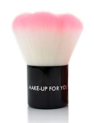 cheap -Professional Makeup Brushes 1 pc Professional Adorable Color Gradient Synthetic Hair Metal for Makeup Brush