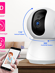 cheap -SDETER HD 1080P PTZ Wireless Security Camera WiFi Pan Tilt Cloud Storage Two Way Audio IP Camera CCTV Camera Surveillance Night Vision Baby Monitor Pet Camera P2P Cam