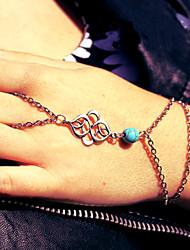 cheap -Women's Vintage Bracelet Ring Bracelet / Slave bracelet Earrings / Bracelet Retro Lucky Simple Vintage Ethnic Fashion Boho Alloy Bracelet Jewelry Gold / Silver For Daily School Street Holiday Festival