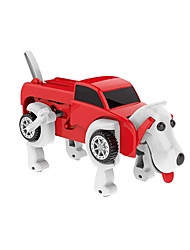 cheap -Wind-up Toy Transformable Focus Toy Lovely Dog Car Kids Child's All Toy Gift / Parent-Child Interaction