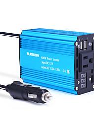 Недорогие -Suredom автомобильный инвертор 400 Вт синий соотношение цены и качества высокая мощность инвертор DC12 / 24 В-AC220 В / 110 В с 2 USB инвертор
