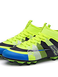 cheap -Boys' Comfort Patent Leather Athletic Shoes Big Kids(7years +) Soccer Shoes Black / Green / Blue Summer