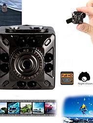 abordables -mini 1080p full hd vision nocturne cmos dv caméra voiture enregistreur vidéo dvr 8 lampe à induction infrarouge angle de vision 120 ° carré petite caméra micro