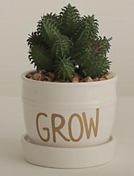 Недорогие -Искусственные Цветы 1 Филиал Классический Modern Суккулентные растения Ваза Букеты на стол