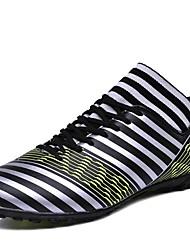 abordables -Homme Chaussures de confort Polyuréthane Automne hiver Sportif Chaussures d'Athlétisme Football Noir et blanc / Vert / Blanche