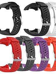 abordables -pour les montres intelligentes polaire m400 m430 bracelet de silicone de remplacement bande de montre bracelet