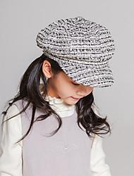 cheap -Toddler Girls' Basic / Sweet Striped Hats & Caps Black / Light Blue / Blushing Pink One-Size