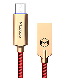 cheap -Mcdodo Knight Series Auto Disconnect Quick Charge 3.0 Micro USB Data Charge Cable