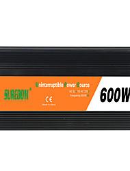 Недорогие -suredom автомобильный инвертор постоянного тока 12 В переменного тока 220 В / постоянного тока 24 В переменного тока 220 В / постоянного тока 12 В переменного тока 110 В 12/24 В 600 Вт для