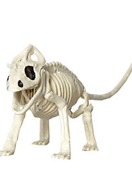 cheap -Holiday Decorations Halloween Decorations Decorative Objects Decorative White 1pc