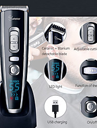 cheap -Cordless Clippers Hair Clippers For Men Hair Trimmer With Titanium Ceramic BladeLed Display Lithium Battery
