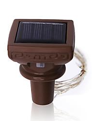 cheap -LOENDE 2m String Lights 20 LEDs Warm White / RGB / White Solar / Wedding / Christmas Wedding Decoration Solar Powered