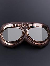 Недорогие -очки для мотоциклов очки винтажный мотокросс ретро авиатор пилот крейсер уф защита от ультрафиолетовых лучей рамка цвета серебро