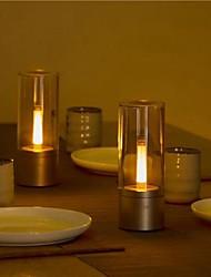 abordables -yeelight ylfw01yl 6.5w lampe de table de contrôle bluetooth de contrôle de la lumière de nuit led rechargeable (produit de l'écosystème xiaomi) - 2pcs