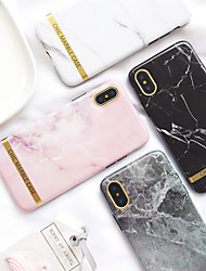 cheap -Case For Apple iPhone XS / iPhone XR / iPhone XS Max Ultra-thin / Pattern Back Cover Marble TPU