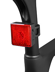 cheap -LED Bike Light Rear Bike Tail Light Safety Light Mountain Bike MTB Bicycle Cycling Waterproof Multiple Modes Smart Induction Portable Li-ion 40 lm Rechargeable USB Red Camping / Hiking / Caving / ABS